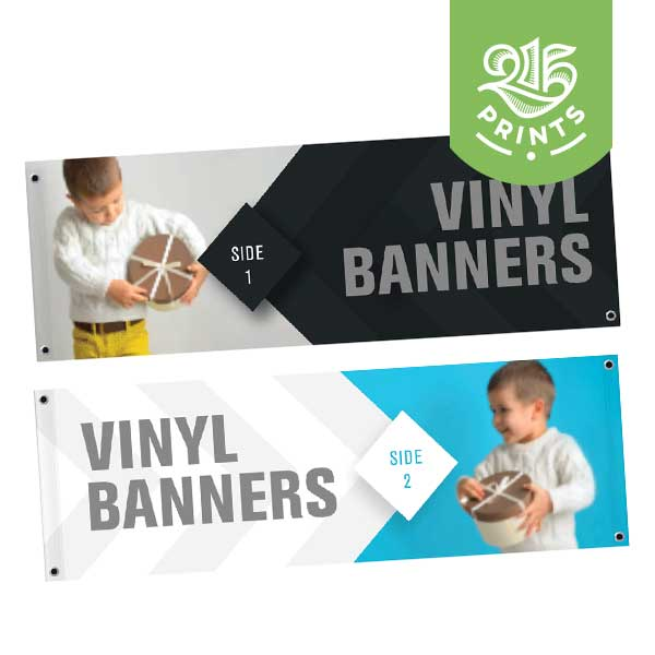 Double Sided Blockout Vinyl Banner