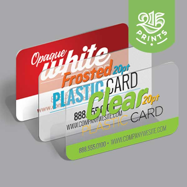 Plastic Business Cards