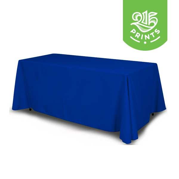 Blue Table Throw