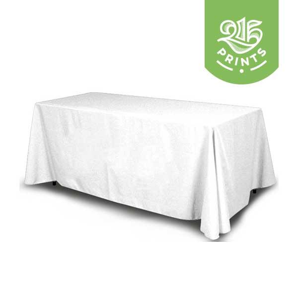 White Table Throw